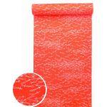 洗える紅(赤)襦袢 松葉紋