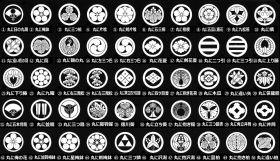 紋の種類(女性の場合は丸無しが主流)