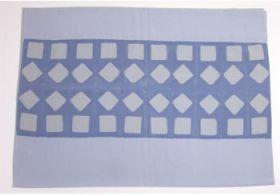 正絹 男物額裏 板締め絞り No.6 薄いグレー/青みグレー