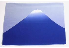 富士山絞り 男物額裏 紺
