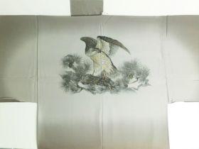 天竜 男襦袢 鷹 茶色 / ブラウン