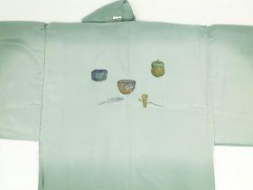 天竜 男襦袢 茶道具 / 茶器 緑 / グリーン