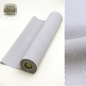 洗える着物 男女兼用着物 万筋 青 42cm巾 No.10