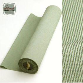 洗える着物 男女兼用着物 万筋 緑42cm巾 No.6