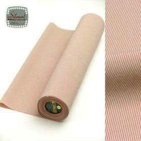 洗える着物 男女兼用着物 万筋 オレンジ系 赤 42cm巾 No.2