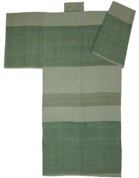 手シケ引き男襦袢 緑