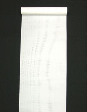 洗える長襦袢 男物 駒絽 白 キングサイズ