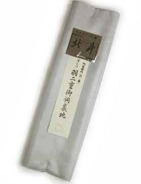 洗える襦袢裏(襦袢用胴裏) 男物 キングサイズ No.1 銀ネズ