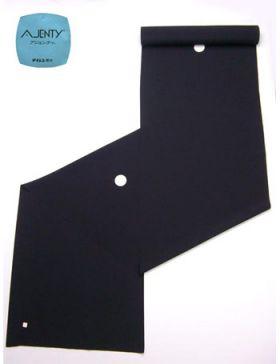 洗える着物 紋付(石持) 男物 高級素材羽二重 反物