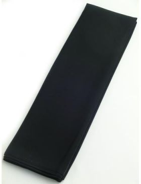 正絹 胴裏 男物 キングサイズ 42cm巾×13.5m 黒