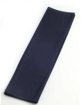 正絹 胴裏 男物 キングサイズ 42cm巾×13.5m No.6 紺色