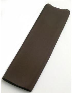 正絹 胴裏 男物 キングサイズ 42cm巾×13.5m No.9 こげ茶