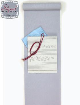洗える着物 万筋(極細縞)/TL寸可能40cm巾 幅広 ブルーNo.10