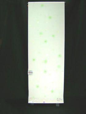 洗える長襦袢 水玉紋意匠 白地にぼかし 緑色