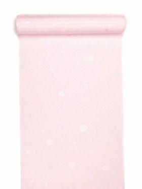 洗える長襦袢 水玉無地 ホワイトピンク
