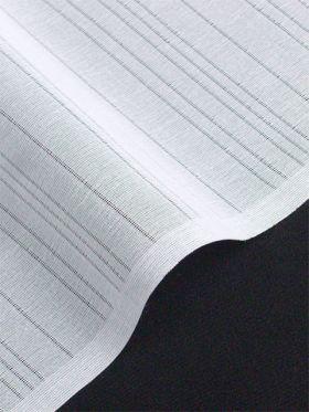 洗える長襦袢 夏物 段絽 軽量素材 白/テイジンシルパール