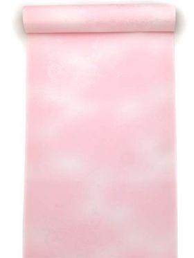 洗える長襦袢 紋綸子 クイーンサイズ ピンクぼかし