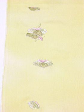 内袖の刺繍