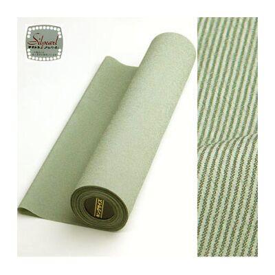 洗える着物 男女兼用着物 万筋 緑44cm巾 No.6