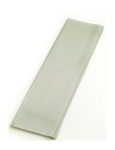 正絹襦袢裏(襦袢用胴裏) 男物 キングサイズ 42cm巾 No.1 銀ネズ