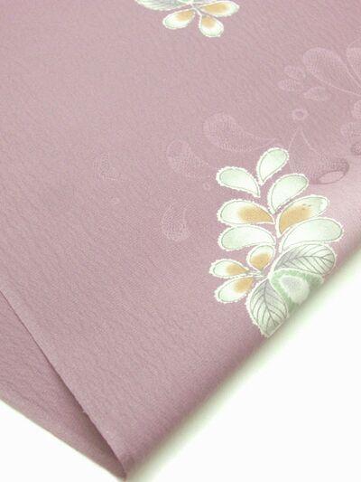 正絹 帯揚げ 絞り柄 紫