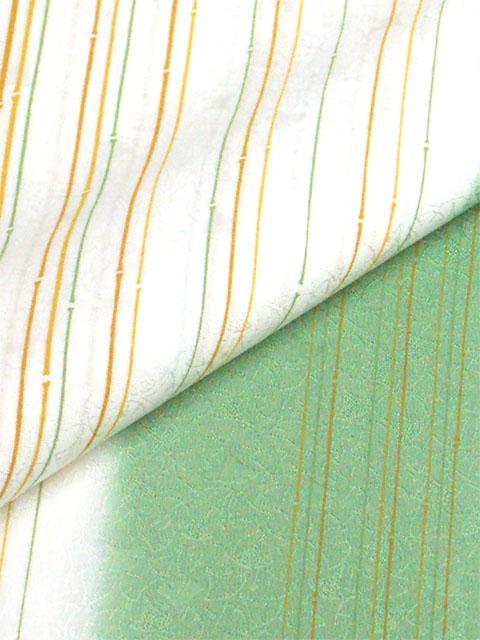 丹後産正絹襦袢 粋小町右 深緑