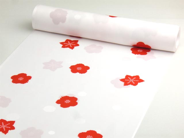 洗える長襦袢 舞妓さんのお好み襦袢 白 水玉地紋
