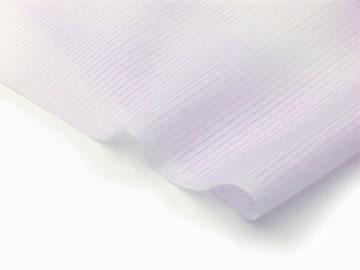 洗える長襦袢 絽(夏物)藤色