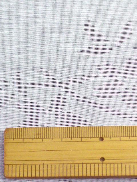洗える長襦袢 夏物 紋紗 りんどう柄