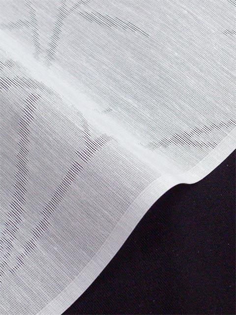 洗える長襦袢 夏物 紋紗 笹柄