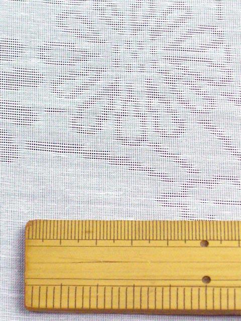 洗える長襦袢 夏物 紋紗 菊柄