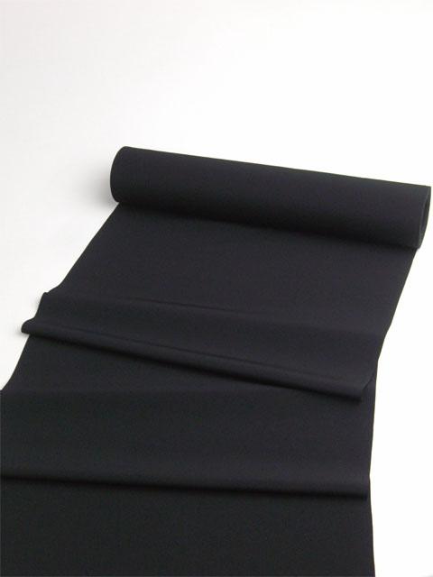 洗える着物 男物 高級素材羽二重(nfk) 黒色 置いた画像