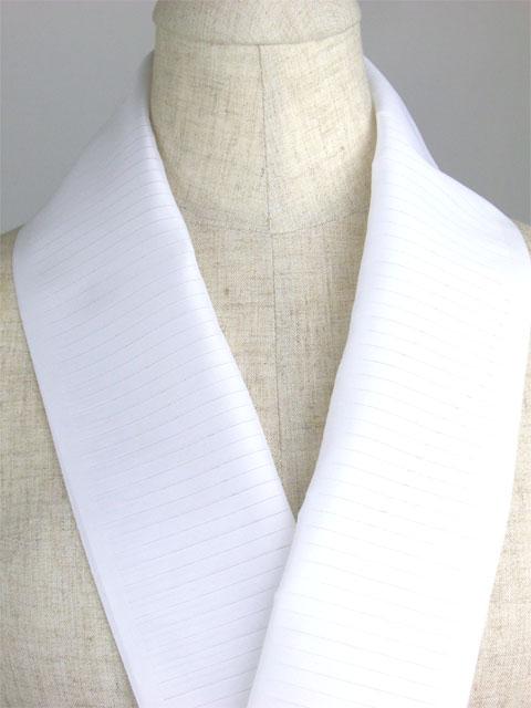 洗える半衿 絽夏物 白