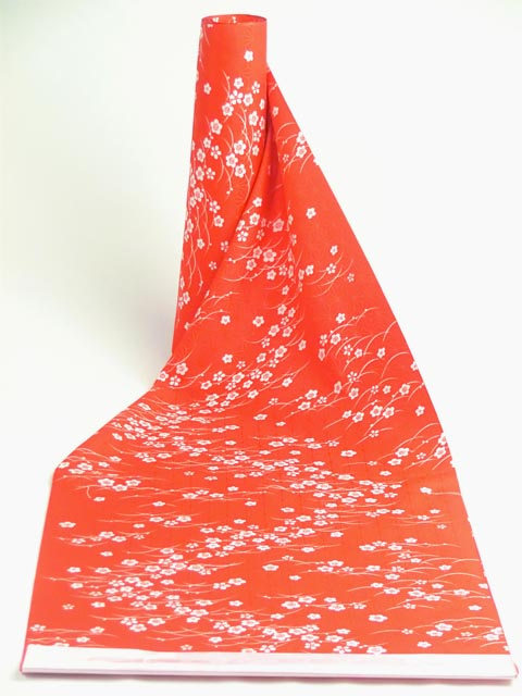 洗える長襦袢 露芝に梅
