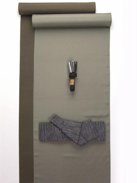 正絹 男着物 羽織セット