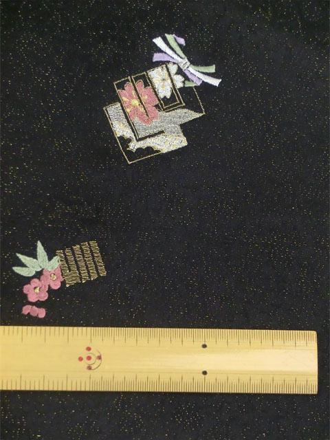 刺繍小紋 源氏香とにおい袋 拡大表示1