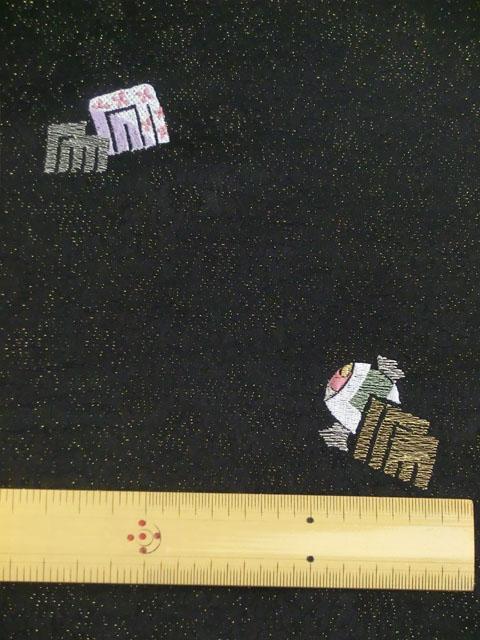 刺繍小紋 源氏香とにおい袋 拡大表示3