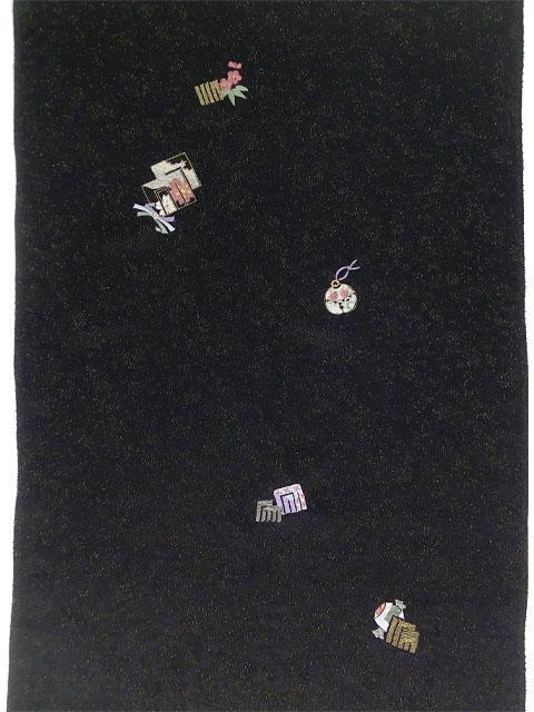 刺繍小紋 源氏香とにおい袋