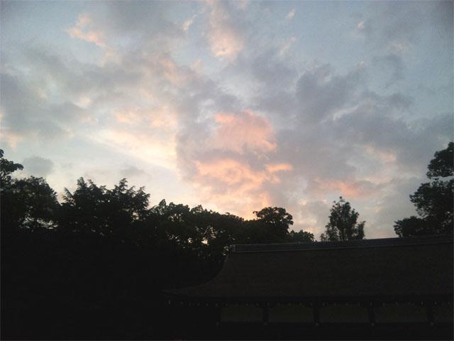 上賀茂神社 空