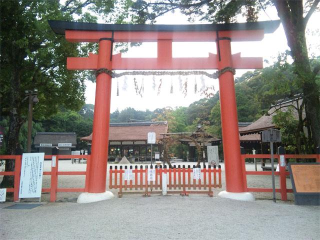 上賀茂神社 鳥居