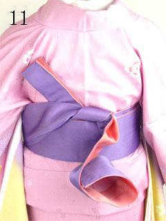 卒業式袴の着方11