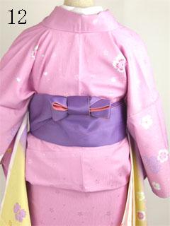 卒業式袴の着方12