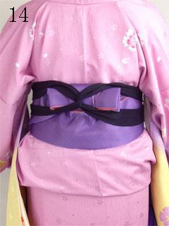 卒業式袴の着方14