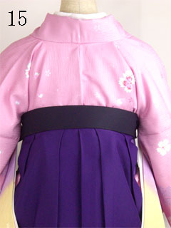 卒業式袴の着方15