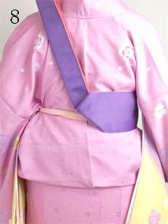 卒業式袴の着方8