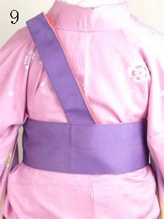 卒業式袴の着方9