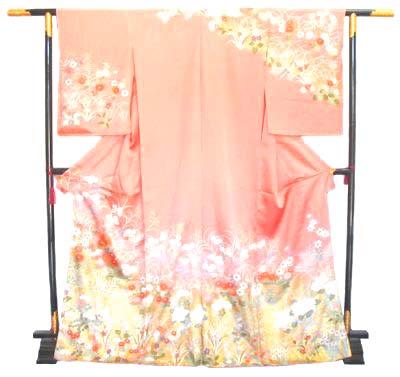 着物 訪問着/kimono houmongii