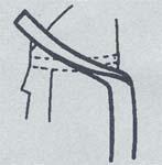 帯の結び方/貝の口1