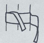 帯の結び方/貝の口5