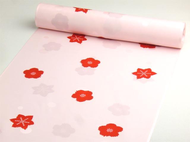 洗える長襦袢 舞妓さんのお好み襦袢 ピンク 水玉地紋
